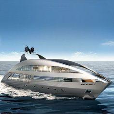 Luxury yatch..