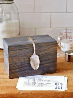 Bent-Spoon Recipe Box