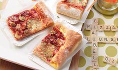 Pizza mit Käserand Rezept: Die Pizza mit dem saftigen Rand - Eins von 7.000 leckeren, gelingsicheren Rezepten von Dr. Oetker!