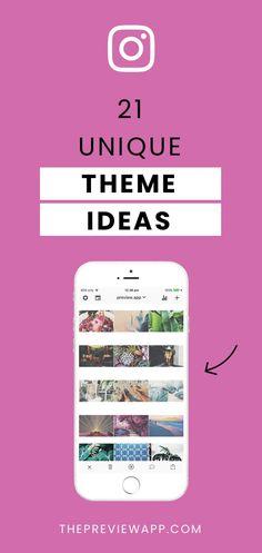 21 Instagram Theme Ideas using Preview App ( Editing Tips) Best Instagram Profiles, Instagram Feed Tips, Instagram Feed Layout, Instagram Marketing Tips, Instagram Frame, Free Instagram, Instagram Story Ideas, Instagram Grid, Instagram Design