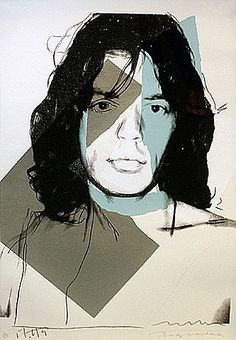 Andy Warhol, Mick Jagger 138  I think my girlfriend made him breakfast the other day...not sure.
