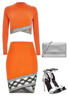 """OJ"" by carlafashion-246 ❤ liked on Polyvore featuring MICHAEL Michael Kors, River Island and Fendi"