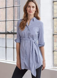 b05bc1022b70e Dora Maternity Shirt in [colour] at Isabella Oliver. Shop our luxury  collection today