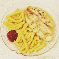 Tilapia with fries