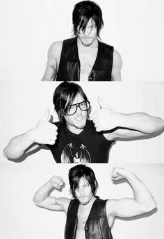 Norman Reedus..my favorite badass on The Walking Dead.