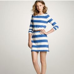 J Crew Factory Maritime Dress