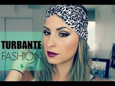 Forma estilosa de colocar um turbante/lenço no cabelo | By Raka Minelli ♥