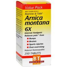 Boericke and Tafel Arnica Montana 6X - 250 Tablets