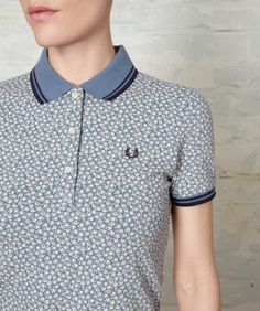 d56ad0655e9 Floral Print Fred Perry Shirt
