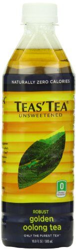 Teas' Tea Unsweetened Golden Oolong Tea, 16.9 Ounce (Pack of 12) >>> Click on the image for additional details.