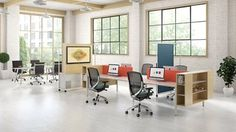 Beautiful spaces creted using Kimball Office