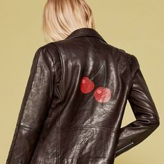 Reformation and Veda have teamed up on a new collaboration of leather jackets.