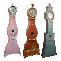 I love these kind of clocks....they are called Swedish Mora Clocks.