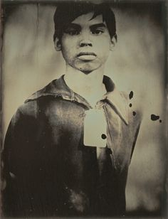 Memory and the Archive Binh Danh, American, born Vietnam, 1977, Ghost of Tuol Sleng, Genocide Museum #1, 2008, daguerreotype, 21.59 × 16.51 cm (8 ½ × 6 ½ in.), 2012.43.1