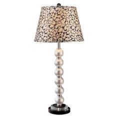 Minka - 12327-0 - Table Lamp - Pearl and Black