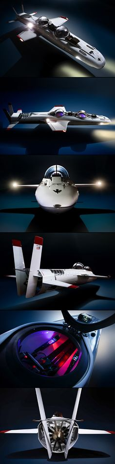 The Deepflight Submarine Super Falcon Mark II by Graham Hawkes is 17 feet long and seats two, with each person getting their own bubble-glass cockpit. Glass Cockpit, Sea Diving, Expedition Vehicle, Yellow Submarine, Speed Boats, Luxury Yachts, Water Crafts, Deep Sea, Underwater