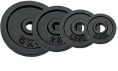 Halterschijven RS 1 x 20 kg (1 stuk)  Description: De gietijzerenhalterschijven RSvan fitnessdelivery hebben een uitstekende prijs/kwaliteit verhouding. De halterschijven zijn voorzien van een zwarte coating waardoor er geen kans is op corrosie. Schijven zijn geschikt voor halterstangen met een doorsnede van 30 mm. \\n Extra informatie: 0.5 kg 1.25 kg en2.5 kg worden per paar geleverd. De 5 kg 10 kg 15 kg en 20 kg worden per stuk geleverd.  Price: 35.90  Meer informatie