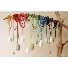 Robin Woods Lamp, M mit Porzellanfassung