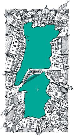14ª Bienal de Veneza - ilustração ©Ana Aragão