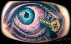 50 Crazy Eye Tattoos   Cuded  Screw Eye