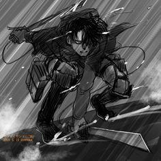 Levi Ackerman Attack on Titan