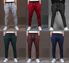 Mens Jogger Dance Sportwear Baggy Harem Pants Slacks Trousers Sweatpants #CasualPants