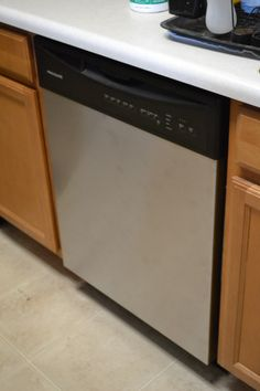 In with the new stainless steel #Frigidaire!