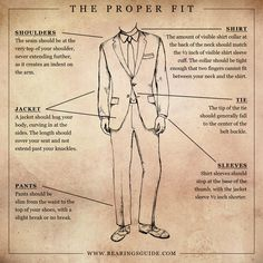 Make sure your clothes ACTUALLY fit.