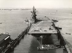 US Navy Aircraft Carrier USS Intrepid (CV-11), Sept. 1943.