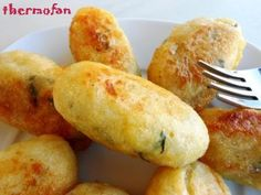 THERMOFAN: Albóndigas de bacalao (TMX / T) No Cook Appetizers, Albondigas, Kitchen Dishes, Fish And Seafood, Cooking Time, Finger Foods, Tapas, Food To Make, Food And Drink