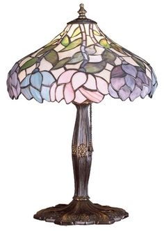 """Wisteria 17"""" H Table Lamp with Bowl Shade"""