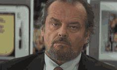 15 fascinantes GIF que te recordarán las perfectas actuaciones de Jack Nicholson