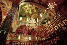 Byzantine Iconography Studio specializing in Traditional Icons and Murals for the Orthodox and Eastern-rite (Byzantine) Catholic churches Orthodox Catholic, Orthodox Christianity, Catholic Churches, Christian Church, Byzantine, Old Things, Empire, Icons, Travel