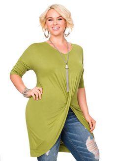 02bce1139bb Twist Front Dolman Top Twist Front Dolman Top Fashionable Plus Size  Clothing