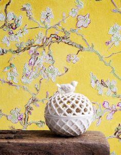 €54,90 Precio por rollo (por m2 €10,30), Papel pintado floral…