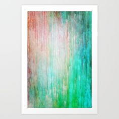 color wash Art Print by Iris Lehnhardt. Worldwide shipping available at Society6.com. Just one of millions of high quality products available.