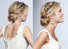 One of the easy hairstyles that we learn from our childhood, are the Hairstyles with braids. Here is a complete gude for braid hair styles Loose Hairstyles, Elegant Hairstyles, Party Hairstyles, Bride Hairstyles, Latest Hairstyles, Hairstyle Ideas, Hair Ideas, Short Wedding Hair, Wedding Hair And Makeup