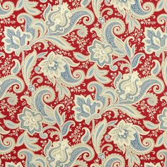Waverly Rustic Retreat Federal Fabric - contemporary - upholstery fabric - Online Fabric Store