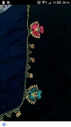 This Pin was discovered by HUZ Beaded Embroidery, Hand Embroidery, Beading Patterns, Crochet Patterns, Crochet Lace Edging, Quilt Stitching, Needle Lace, Lace Making, Lace Flowers