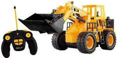 Remote Control Construction Tractor - Best Gifts for 6 Year Old Boys