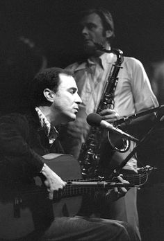 Joao Gilberto and Stan Getz in San Francisco. Photo by Tom Copi