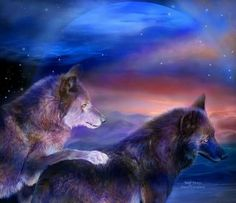 Song in your heart Love Art Images, Wolf Mates, Love Backgrounds, Wolf Love, Wolf Pictures, Wild Wolf, Landscape Background, Wolf Spirit, Galaxy Painting