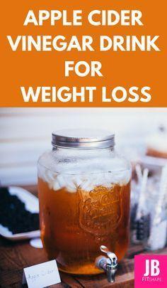 Apple Cider Vinegar Drink for Weight Loss.