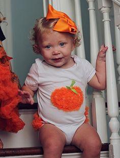 Halloween Onesies   Pumpkin Onesie   Jack-o-Lantern Onesie