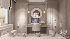 Luxury Home Office designed by Krzysztof Chrustalew