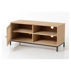 Industrieel Tv Meubel Van Massieve Spar En Metaal Home Industrial Tv Unit Industrial Design Furniture Affordable Furniture