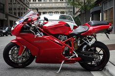 Ducati 999, via Flickr. omg if it was blue and white
