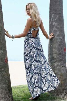 Flynn Skye Backstrap Moroccan Glass Dress