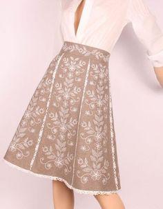 Fashion from Ukraine: Ethno style Folk Fashion, Fashion Show, Ethno Style, All About Fashion, Ukraine, Nice Dresses, High Waisted Skirt, Dressing, Two Piece Skirt Set