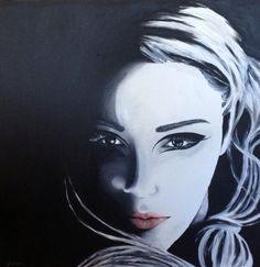 Acrylic painting on canvas. Artist: Johanna Joona Bergström